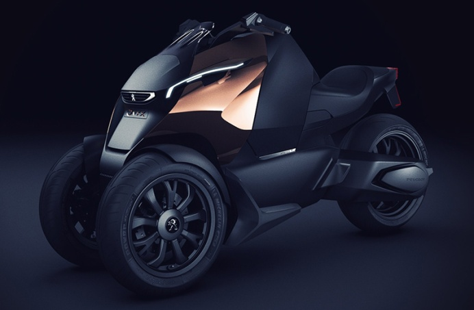 Peugeot Onyx scooter IIHIH 1