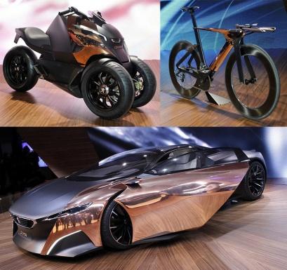 peugeot-onyx-supercar, bike and scooter at motorshow iihih